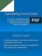 Calculating Food Cost (1)