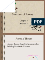 Structure of Atoms Notes