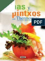 Tapas Y Pintxos Con Thermomix. - Equipo Susaeta