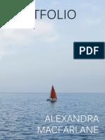 Alexandra Macfarlane Design Portfolio