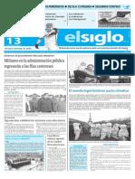 Edicion Impresa El Siglo 13-12-2015