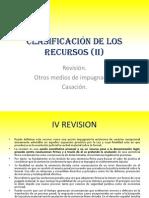 Clasificación de Los Recursos (II)