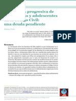 Autonomia Progresiva de Niños, Niñas y Adolescentes