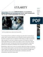 Hanif Kureishi - Sex and Secularity - Filmmaker Magazine - Summer 2002