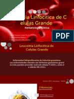 Leucemia Linfocitica de Celulas Grandes Granulares