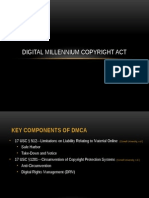 Digital Millennium Copyright Act (DMCA) Presentation Final