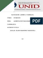 Monografia Dieta Para Paciente Diabetico Dra Gladys 11-12-15