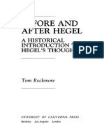 Tom Rockmore-Before and After Hegel_ a Historical Introduction to Hegel's Thought-University of California Press (1993)