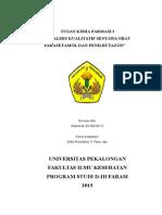 Paper Senyawa Obat Parasetamol dan Fenilbutazon