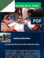 La educacion en el peru.ppt