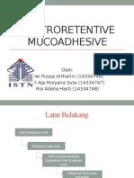 Gastroretentive Mucoadhesive.pptx