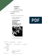La Naturaleza Cura_ Los Ensayos Psicológicos de Paul Goodman - Gestaltoteca - Gestaltnet