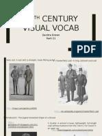 20th century visual vocab