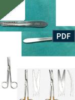 Intrumentos en Cirugia