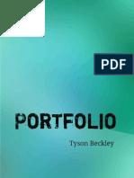 Tyson Beckley Portfolio
