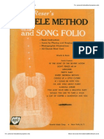 Harry Reser's Ukulele Method and Song Folio
