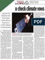 Satellites to check climate vows