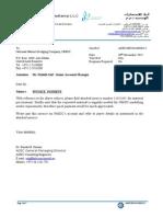 ADEC Letter Templete