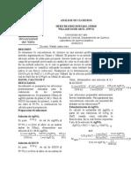 Informe 3 Análisis de Cloruros