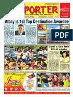 Bikol Reporter November 8 - 14, 2015 Issue