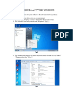Procedura Activare Windows 7