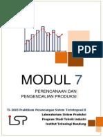 2015 Modul 7 Perencanaan & Pengendalian Produksi