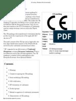 CE Marking -