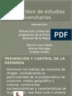 Programas de Prevencion Del Delito