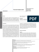 antiplasidal xanthone