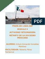 Retrato de la Sociedad Mexicana. Modulo 9