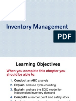 Chapter 7 - Inventory Management