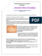Leccion 01-Origenes Grafologia