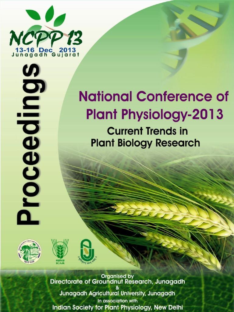 proceedings book ncpp 2013 icar dgr directorate of groundnut rh scribd com Plant Hormones Plant Physiology Taiz 5th Edition