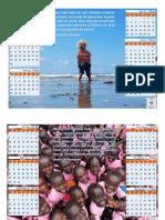 Calendário Missões Crianças 2016