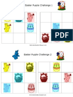 Easter Puzzle Challenges 1-2