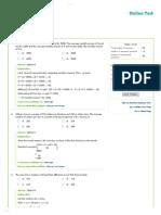 [Done]Online Aptitude Test - Aptitude Test 3