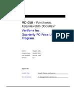 MD050- Quarterly PO Price Updaterev2