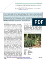 Pharmacognostic and Phytochemical Properties of Aloe Vera Linn