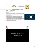 PDCI Core Kit 12 Insulin Injection Technique Dr. Hendra Zufri