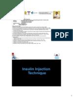 PDCI Core Kit 12 Insulin Injection Technique Dr. Hendra Zufri