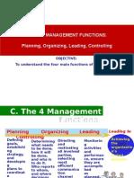 X1.3- Planning, Organizing, Leading, Controling
