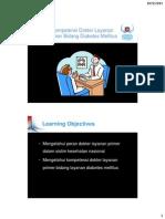PDCI Core Kit 17 Kompetensi Dokter Layanan Primer Bidang Diabetes Melitus (Rev)