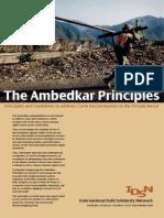 Ambedkar Principles
