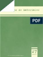 Cuaderno de Materiales 27(1)