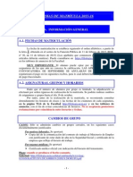 Normas Matrícula 2015-16 Filología 1