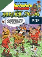 Magos Del Humor N162 - Mortadelo y Filemon Mundial 2014oso