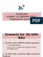 Guideline-huawei 3g Dbs3900 (Rru) Deployment Scenario