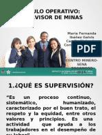 Sustentación. Supervisor Minero