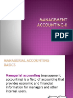 1). Management Accounting Term-II