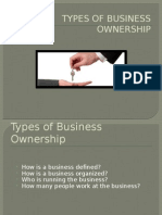 Forms of Ownership PPT